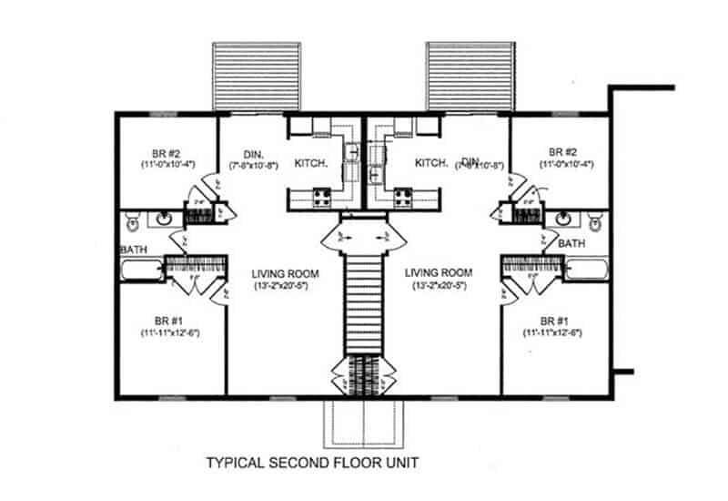 Graystone Apartments 2 bedrooms style a floor plan