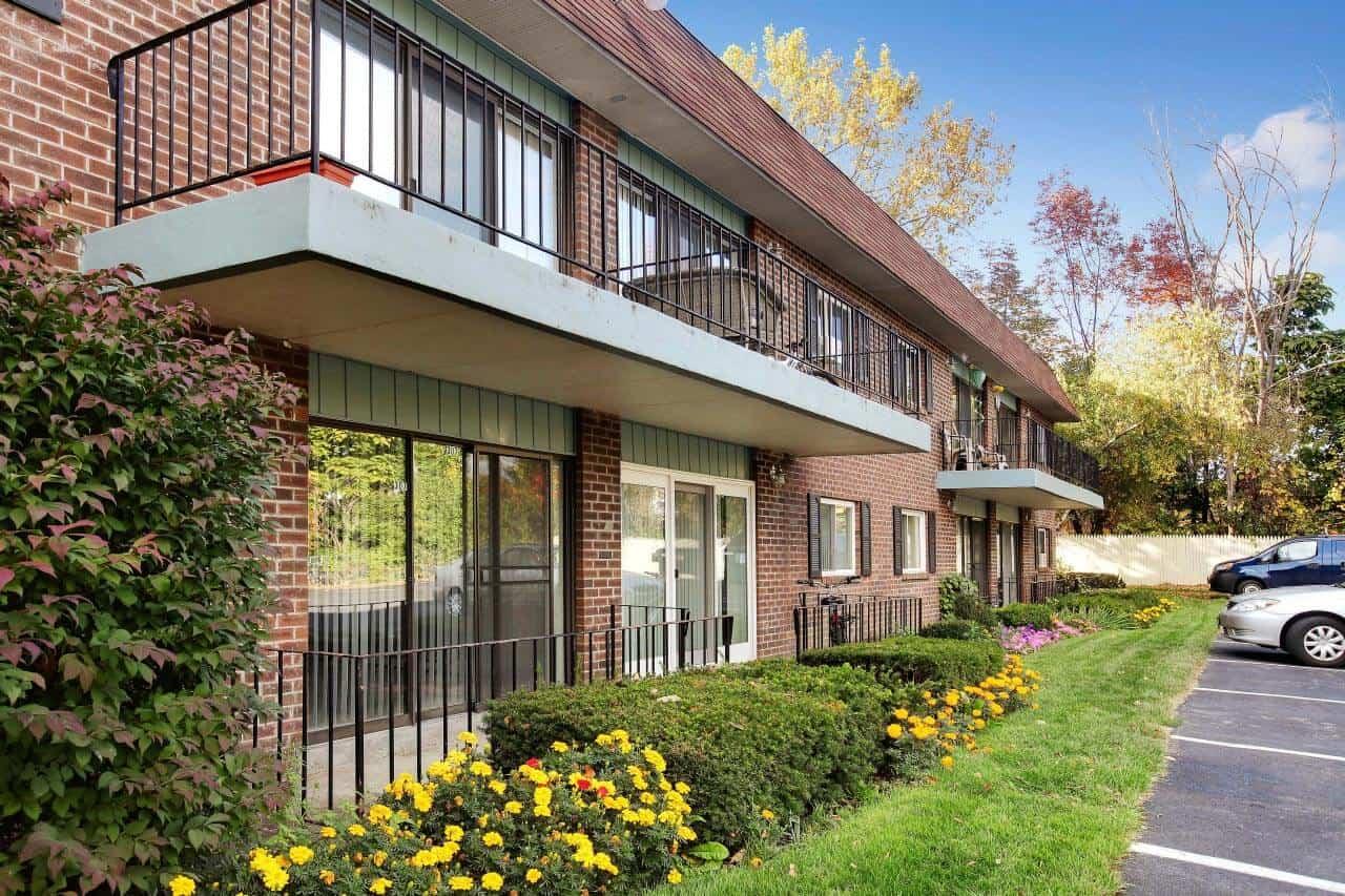 Spacious balconies