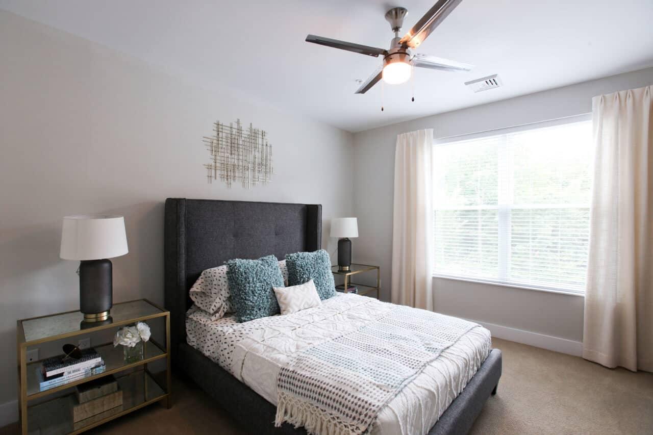 Apartment interior bedroom