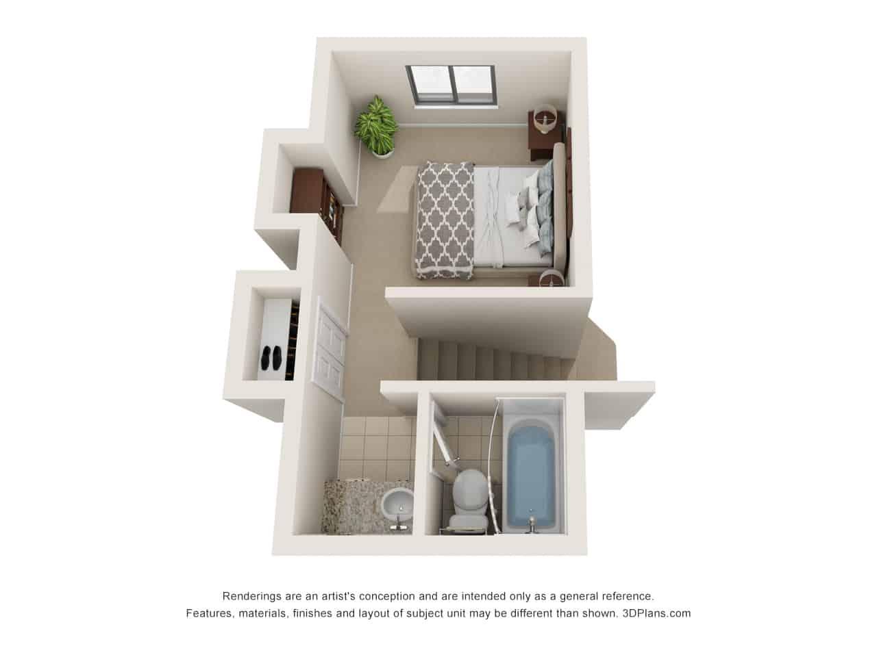 2 Bedroom - 2nd Floor